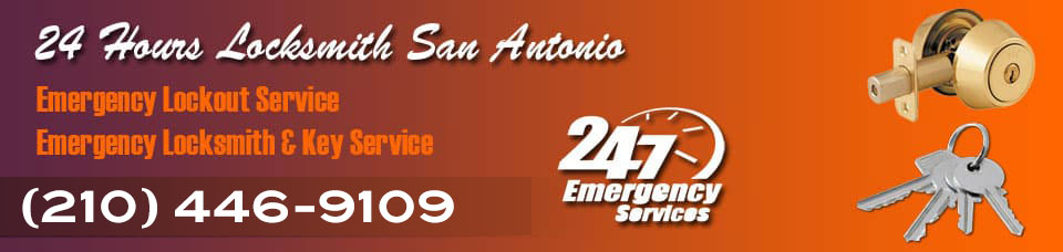 24 Hours Locksmith San Antonio Banner
